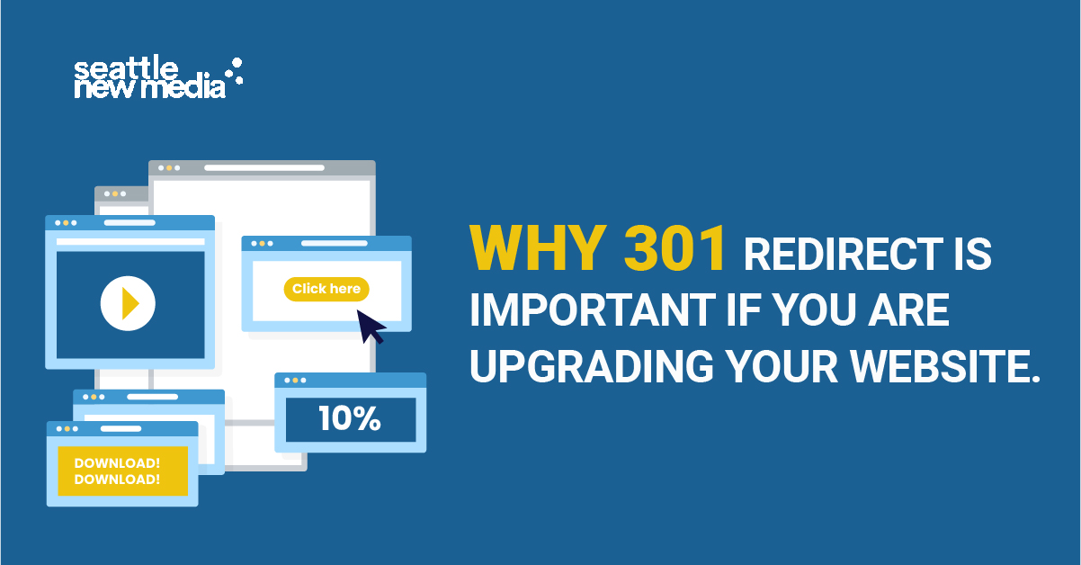 Why 301 redirect is important if you are upgrading your website